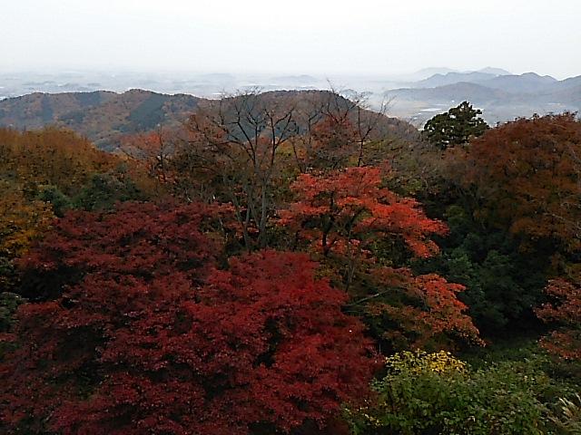 深まる秋、紅葉の太平山へ