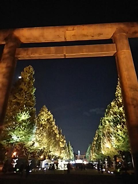 靖国神社  黄葉見まつり