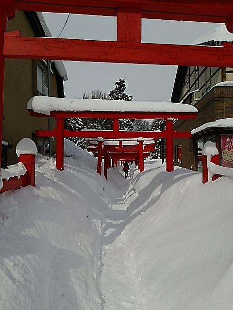 さようなら、厳寒大雪の青森県弘前市
