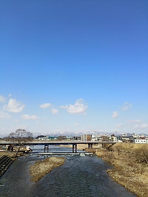 花巻市の風景