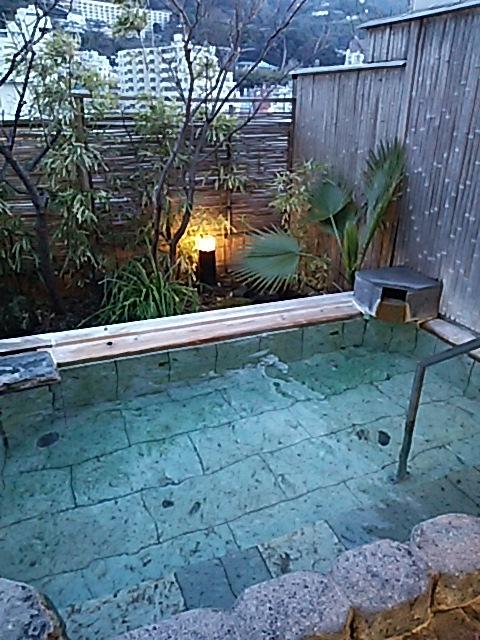 静岡県熱海市・熱海温泉の風景。