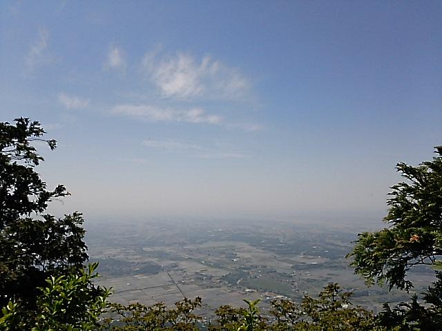 初夏の筑波山・おたつ石コースで女体山頂へ