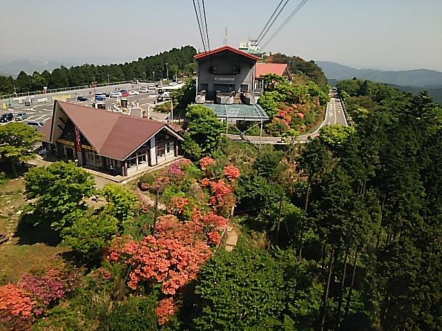 さようなら、新緑が美しい初夏の筑波山