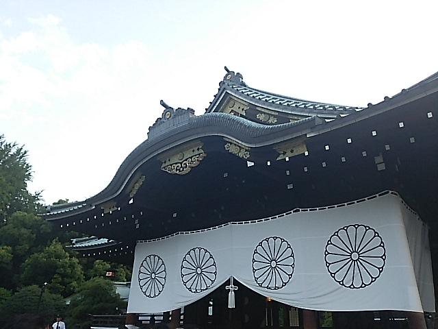 終戦七十年の終戦記念日 靖国神社参拝
